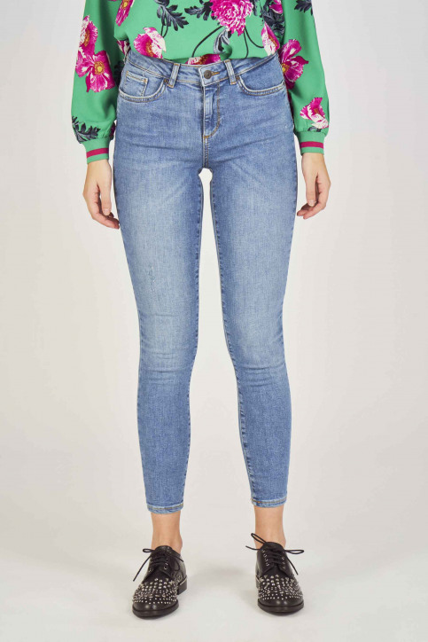 VERO MODA Jeans skinny denim 10209611_LIGHT BLUE DENI img1