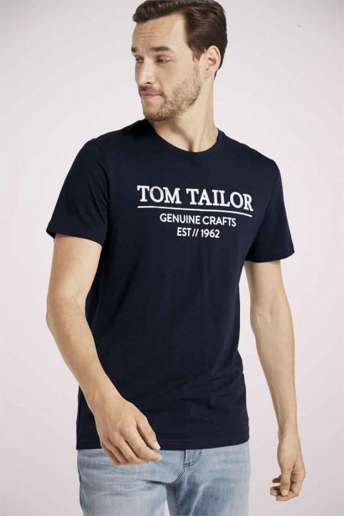 Tom Tailor T-shirts (manches courtes) bleu 1021229_10668 SKY CAPTA img1