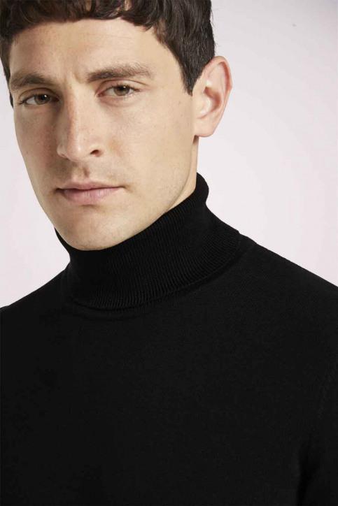 Tom Tailor Pulls col O noir 1021444_29999 BLACK img6