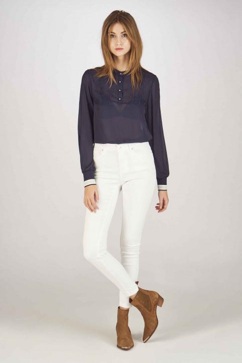 VERO MODA® Jeans skinny blanc 10216272_BRIGHT WHITE img2