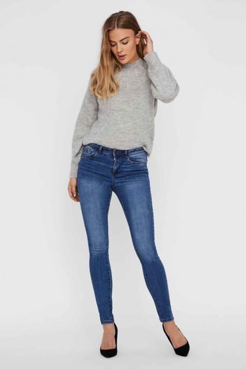 VERO MODA Jeans skinny denim 10222531_MEDIUM BLUE DEN img1