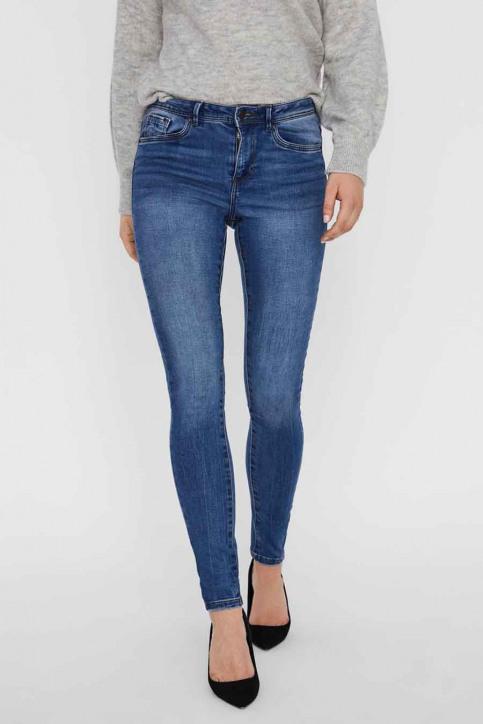 VERO MODA Jeans skinny denim 10222531_MEDIUM BLUE DEN img2