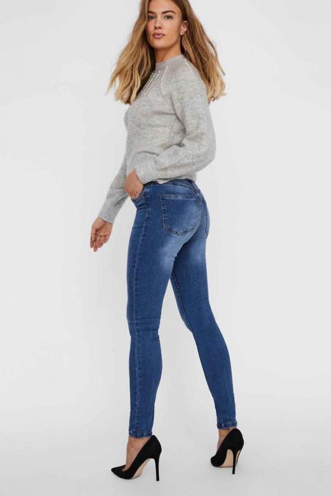 VERO MODA Jeans skinny denim 10222531_MEDIUM BLUE DEN img3