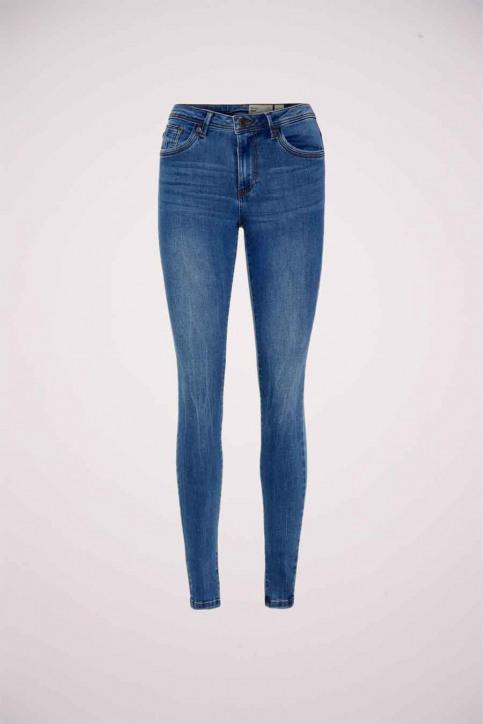 VERO MODA Jeans skinny denim 10222531_MEDIUM BLUE DEN img5