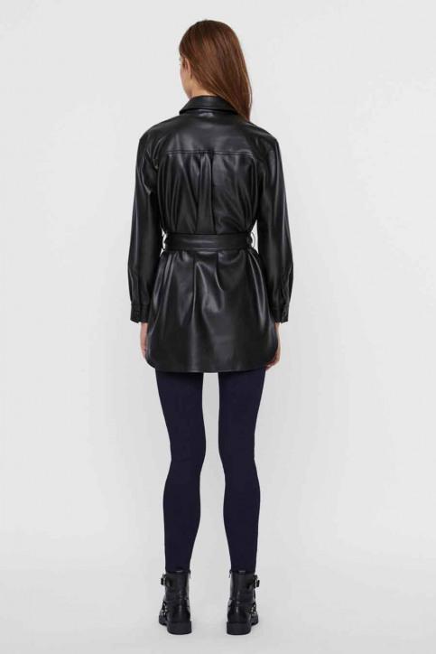 VERO MODA Vestes en cuir noir 10235687_BLACK img3