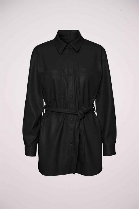 VERO MODA Vestes en cuir noir 10235687_BLACK img5