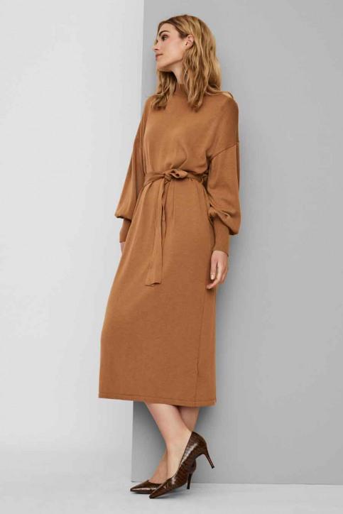 VERO MODA Robes 3/4 brun 10235696_TOBACCO BROWN img4