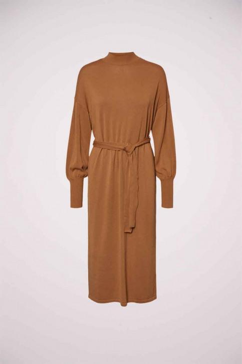 VERO MODA Robes 3/4 brun 10235696_TOBACCO BROWN img6