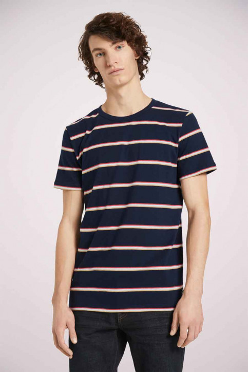 Tom Tailor T-shirts (korte mouwen) multicolor 1023831_25897 NAVY TRIC img3