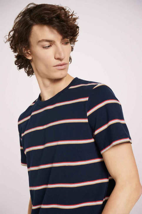 Tom Tailor T-shirts (korte mouwen) multicolor 1023831_25897 NAVY TRIC img5