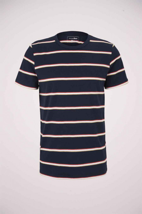 Tom Tailor T-shirts (korte mouwen) multicolor 1023831_25897 NAVY TRIC img6