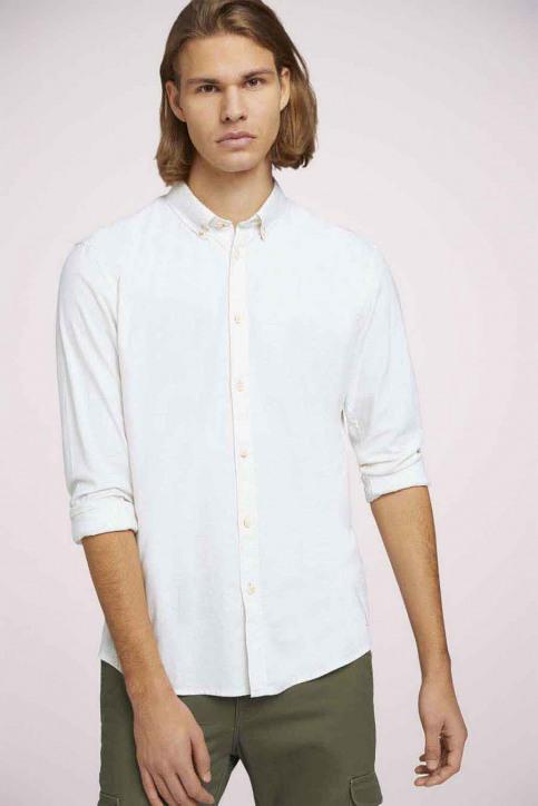 Tom Tailor Hemden (lange mouwen) wit 1023836_26144 OFF WHITE img1