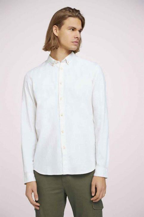 Tom Tailor Hemden (lange mouwen) wit 1023836_26144 OFF WHITE img3