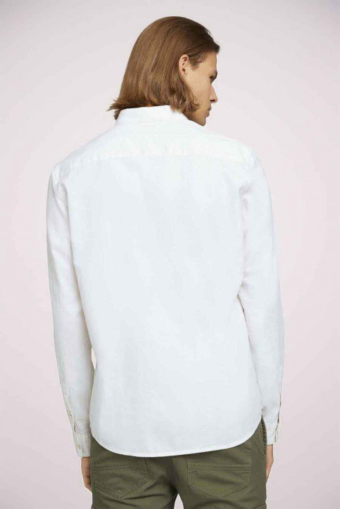 Tom Tailor Hemden (lange mouwen) wit 1023836_26144 OFF WHITE img4