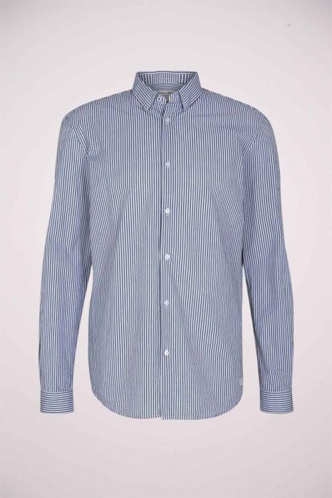 Tom Tailor Hemden (lange mouwen) blauw 1023837_25842 NAVY WHIT img6
