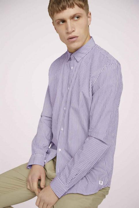 Tom Tailor Hemden (lange mouwen) rood 1023837_25844 BORDEAUX img3
