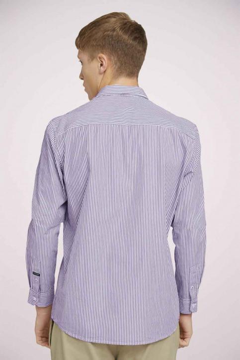 Tom Tailor Hemden (lange mouwen) rood 1023837_25844 BORDEAUX img4