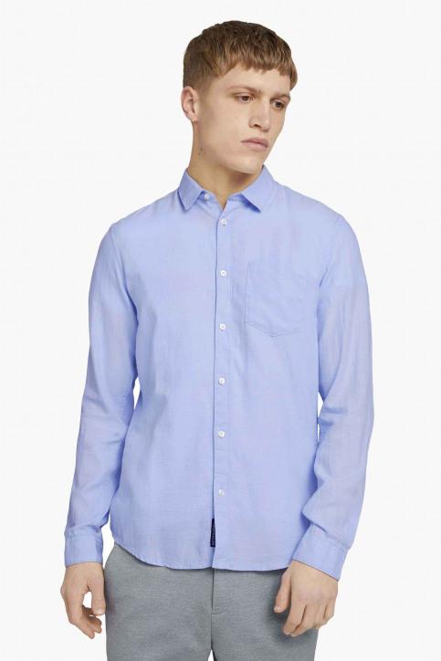Tom Tailor Hemden (lange mouwen) blauw 1023839_25846 L BLUE DO img1