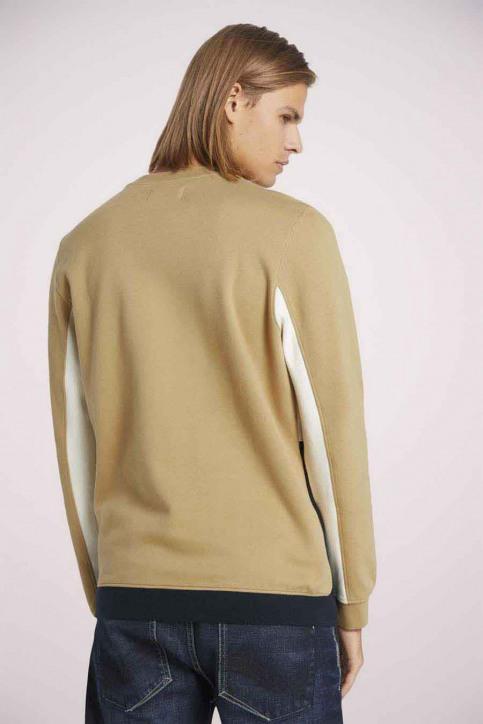 Tom Tailor Sweaters met ronde hals beige 1023842_12435 LARK BEIG img4