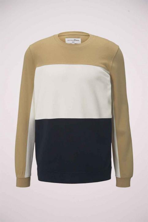 Tom Tailor Sweaters met ronde hals beige 1023842_12435 LARK BEIG img6