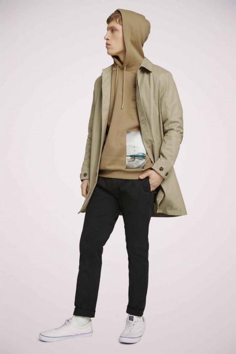 Tom Tailor Sweaters met kap beige 1023843_12435 LARK BEIG img2