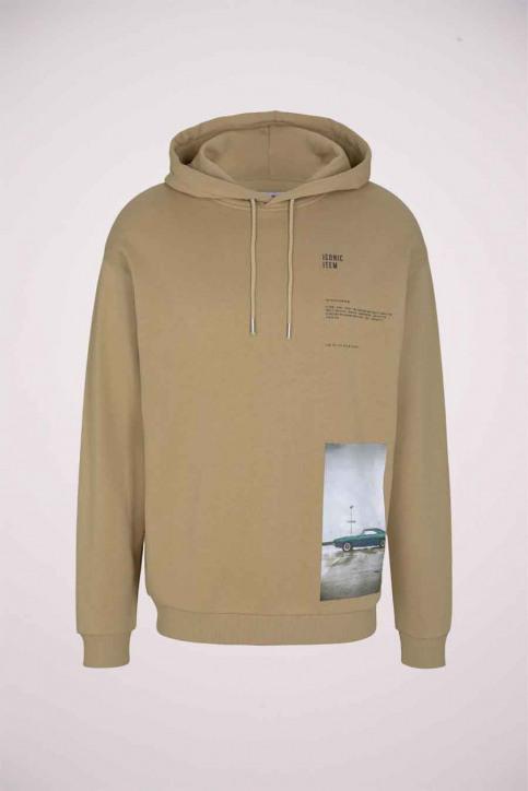 Tom Tailor Sweaters met kap beige 1023843_12435 LARK BEIG img6