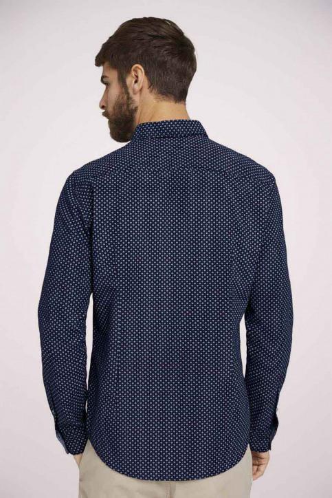 Tom Tailor Hemden (lange mouwen) blauw 1023878_25877 NAVY DIG img4