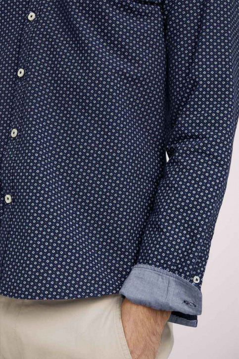 Tom Tailor Hemden (lange mouwen) blauw 1023878_25877 NAVY DIG img5