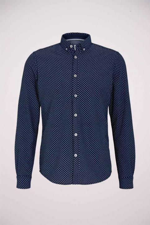 Tom Tailor Hemden (lange mouwen) blauw 1023878_25877 NAVY DIG img6