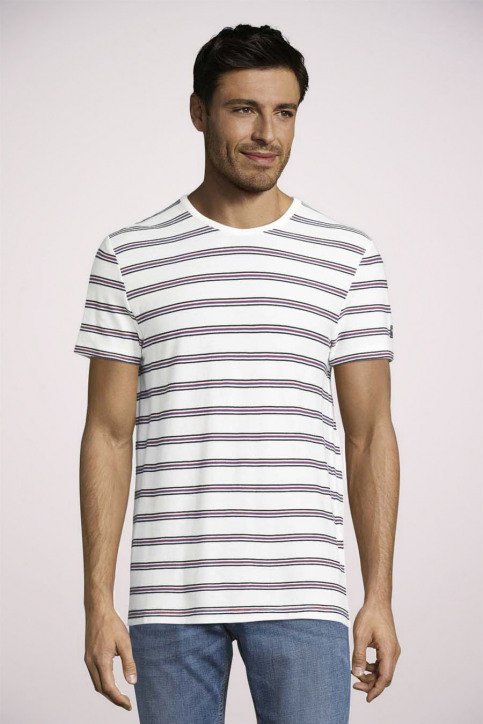 Tom Tailor T-shirts (korte mouwen) wit 1024575_10332 OFF WHITE img3