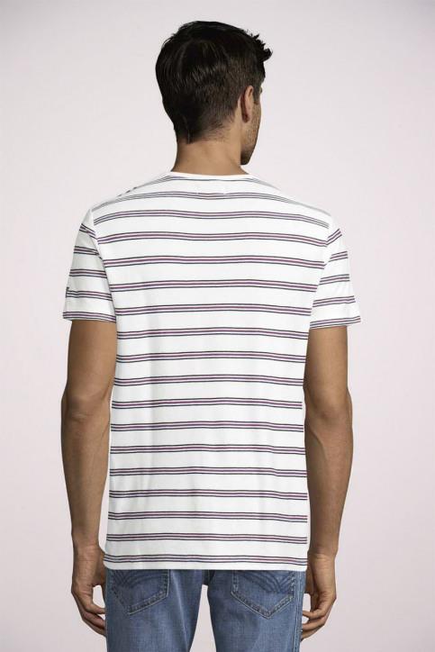 Tom Tailor T-shirts (korte mouwen) wit 1024575_10332 OFF WHITE img4