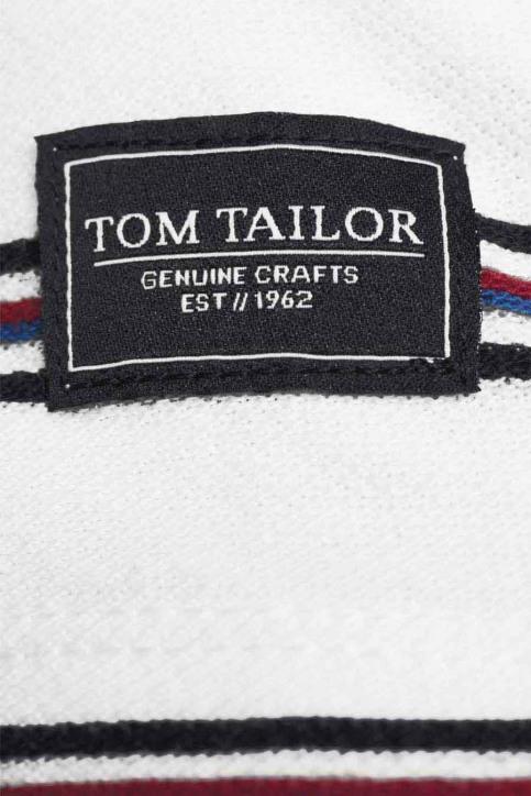 Tom Tailor T-shirts (korte mouwen) wit 1024575_10332 OFF WHITE img5