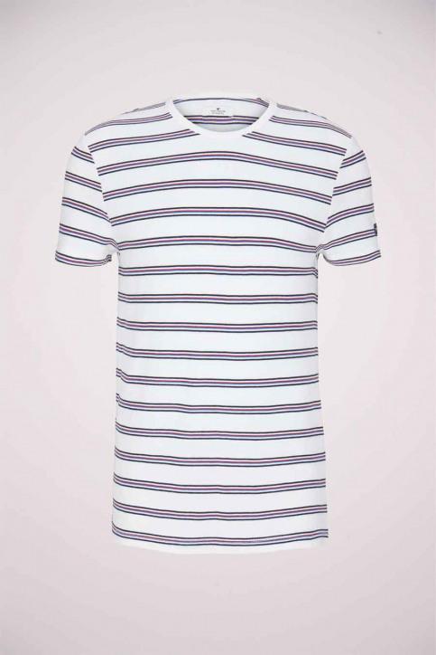 Tom Tailor T-shirts (korte mouwen) wit 1024575_10332 OFF WHITE img6