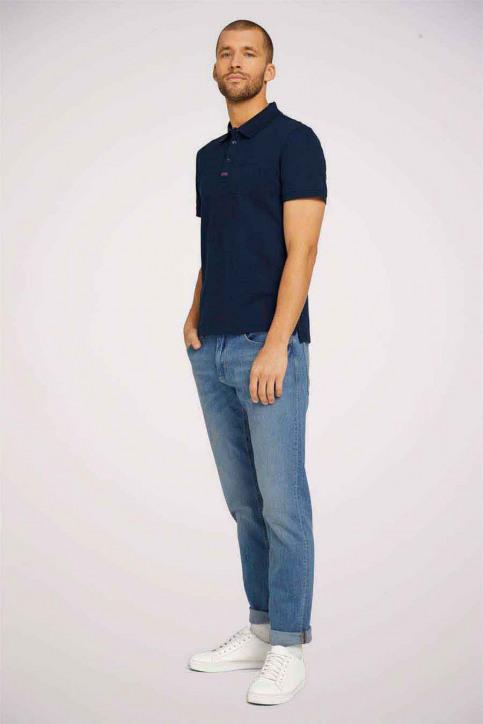 Tom Tailor Polo's blauw 1024577_10302 DARK BLUE img1