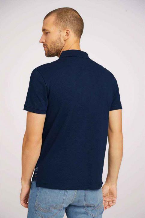 Tom Tailor Polo's blauw 1024577_10302 DARK BLUE img3