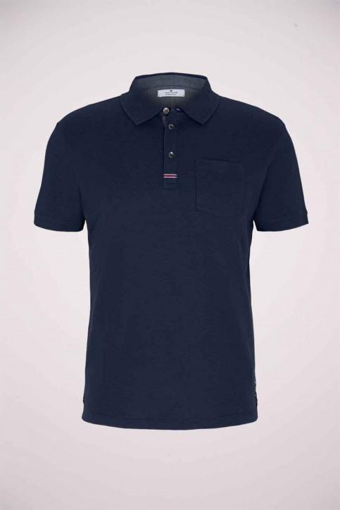 Tom Tailor Polo's blauw 1024577_10302 DARK BLUE img7