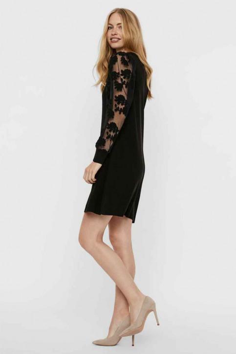 VERO MODA Robes longues noir 10246682_BLACK img2
