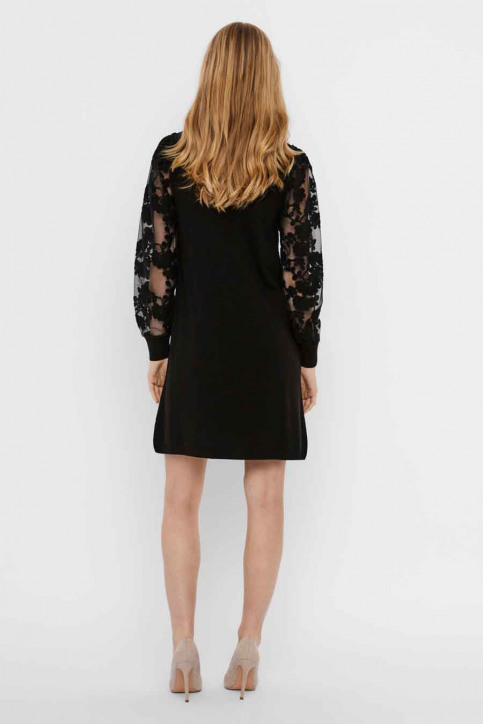 VERO MODA Robes longues noir 10246682_BLACK img3