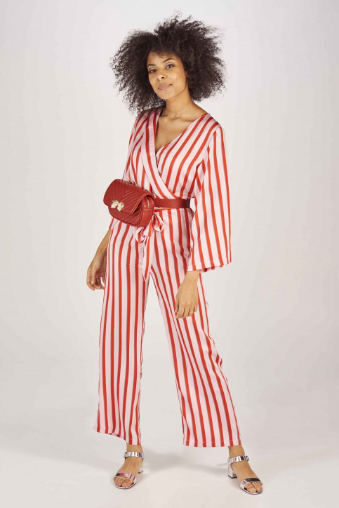 NA-KD Jumpsuits rouge 11000011567792_7792 RED PINK img1
