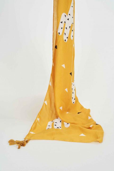 ZEB STYLE LAB Foulards jaune 11101178_YELLOW img1