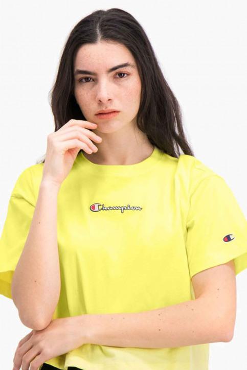 Champion T-shirts (manches courtes) jaune 112652_YS004 LML img4