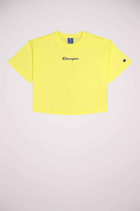 Champion T-shirts (korte mouwen) geel 112652_YS004 LML img5