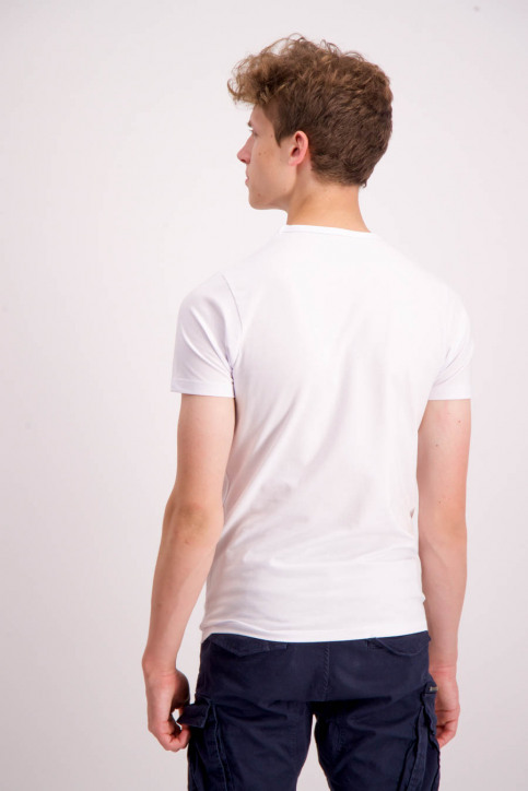 CORE BY JACK & JONES T-shirts (manches courtes) blanc 12058529_WHITE img3