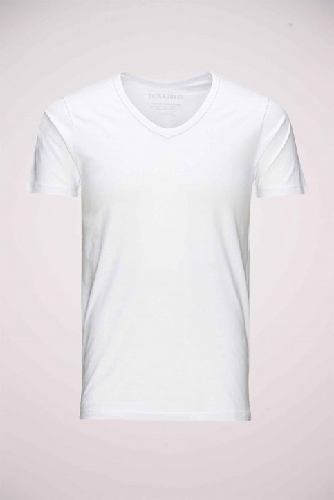 CORE BY JACK & JONES T-shirts (manches courtes) blanc 12059219_WHITE img1