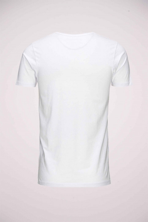CORE BY JACK & JONES T-shirts (manches courtes) blanc 12059219_WHITE img3