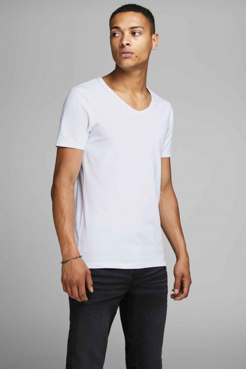 CORE BY JACK & JONES T-shirts (manches courtes) blanc 12059219_WHITE img4