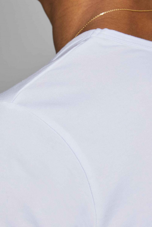 CORE BY JACK & JONES T-shirts (manches courtes) blanc 12059219_WHITE img7