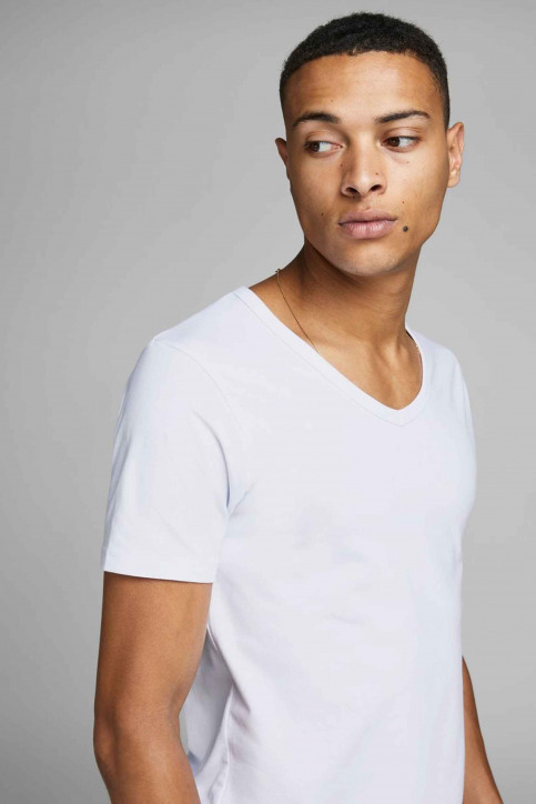 CORE BY JACK & JONES T-shirts (manches courtes) blanc 12059219_WHITE img9