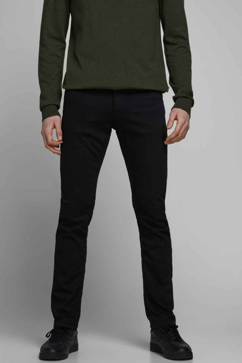 JACK & JONES JEANS INTELLIGENC Jeans slim 12113450_BLACK DENIM img2