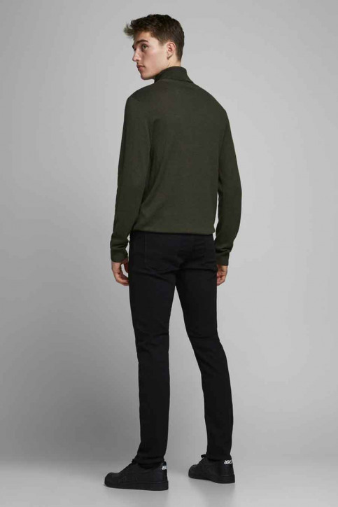 JACK & JONES JEANS INTELLIGENC Jeans slim 12113450_BLACK DENIM img3